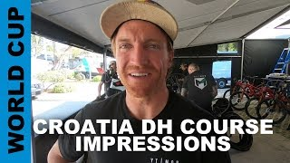 WORLD CUP DH Course Impressions from Croatia