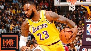 Los Angeles Lakers vs Houston Rockets Full Game Highlights   10.20.2018, NBA Season