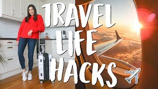 My Top 22 Travel Life Hacks & Tips! | Jeanine Amapola