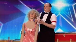 Britain's Got Talent 2016 S10E05 Scott Nelson A Creative Comedic Magician Full Audition