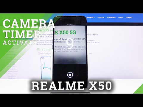 How to Use Camera Timer in REALME X50 5G – Turn On Camera Timer