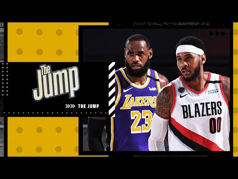 Describing the role Carmelo Anthony will play with LeBron and the Lakers   The Jump