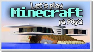 LP Minecraft på 90gQ #64 - Smurres nya hus!