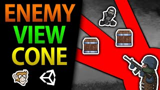 Enemy Line of Sight, Stealth Game in Unity (Field of View)