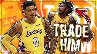 Why Kyle Kuzma MAY CAUSE Ingram TO BE TRADED!