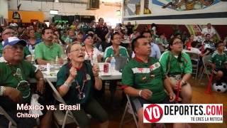México vs. Brasil en Chicago Chitown