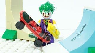 Lego Joker Brick Building Skate Park Superheroes Animation
