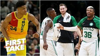 Are Celtics the biggest threat to Bucks in the East? | First Take