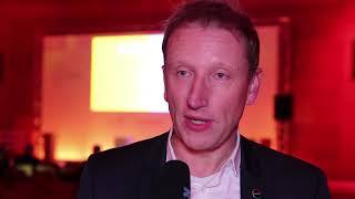 Covestro expert Dr. Hermann Bach at the University Innovation Challenge