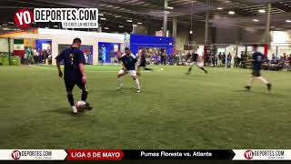 Pumas Floresta vs. Atlante Final 5 de Mayo Soccer League