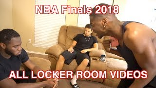 NBA FINALS 2018 ALL LEBRON IN THE LOCKER ROOM ! (FULL VERSION FROM ORIGINAL CREATOR)