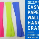 Download Paper Wall Hanging Craft At Home Easy Diy Art Crafts Paper Art And Crafts Idea Crafty Diy Youtube Youtube Thumbnail Create Youtube