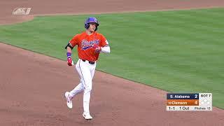 Clemson Baseball || South Alabama Game Highlights - 2/15/19