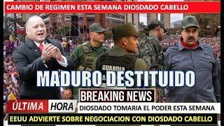 EEUU sabe que Diosdado puede destituir a Maduro esta semana