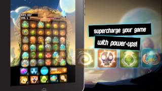 Alien Hive - A unique match-3 sliding puzzle game by Appxplore