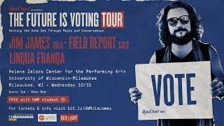 UW-Milwaukee hosts HeadCount's ″The Future is Voting Tour″ featuring Jim James