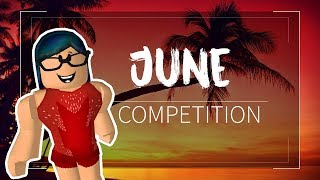 Roblox Gymnastics June Competition: 8:00am