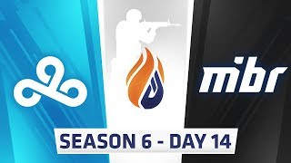 ECS S6 Day 14 - North vs Optic, Fnatic vs Optic // C9 vs MIBR, NRG vs Complexity
