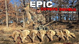 Epic Coyote Double - Coyote Hunting