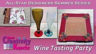 All-Star Designers Summer Series - Wine Tasting Party (Part 1)