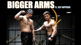 Jeff Nippard Teaches Me How To Get BIG ARMS