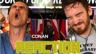 VIR DAS NEWS STAND UP ON CONAN   REACTION!!
