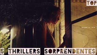 5 Thrillers que te sorprenderán