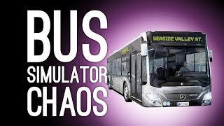 Bus Simulator Xbox One Gameplay: BUS CHAOS! (Let's Play Bus Simulator)
