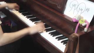 【ピアノ】「千本桜」を弾きなおしてみた (Play again)