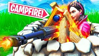 NEW CAMPFIRE TRICK!!! - Fortnite Funny WTF Fails and Daily Best Moments Ep.1230