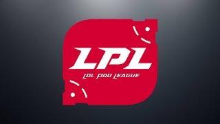 SNG vs. LGD - RW vs. OMG - WE vs. TOP | Week 1 Day 5 | LPL Summer Split (2018)