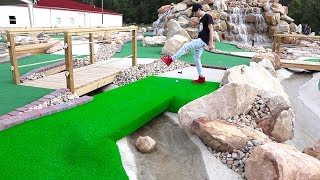 Once in a Lifetime Hole in One! Mini Golf Let's Play FOR REAL!
