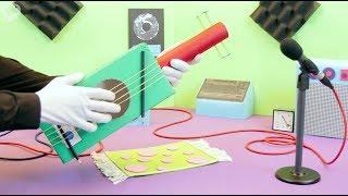 How to make a Guitar | SuperHands | Crafts for kids DIY | PlayKids