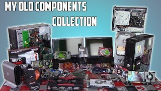 My Old Budget Computer Hardware Collection