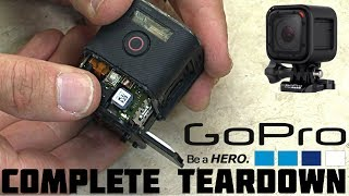 GoPro HERO4 Session COMPLETE Teardown (Battery Replacement, Lens, & MORE!)