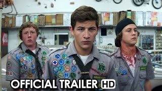 Scouts Guide to the Zombie Apocalypse Official Trailer (2015) - Horror Comedy HD