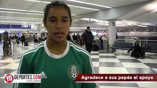 Celiana Torres llega a Chicago luego de su debut con el Tri Femenil