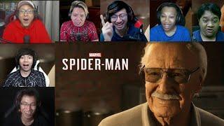 Reaksi Gamer Ketemu Stan Lee (Marvel Spiderman PS4)