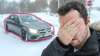 WE GOT STUCK IN THE E63S! *Bad Idea*