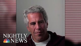 Jeffrey Epstein's Will Filed In Virgin Islands Before His Death   NBC Nightly News