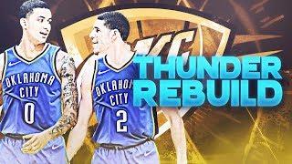 Lonzo Ball + Kyle Kuzma Traded! OKC Thunder Rebuild | NBA 2K19