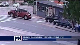Revelan imágenes del golpe que propinó el actor Pablo Lyle y provocó la muerte de un hombre cubano.