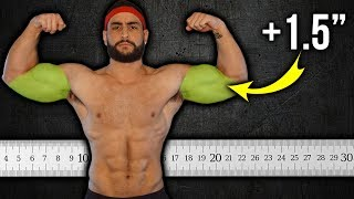 Get BIGGER Arms (Add 1-1.5″ to Your Biceps + Triceps!!)