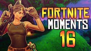 Fortnite Battle Royale WTF & Funny Moments Episode. 16