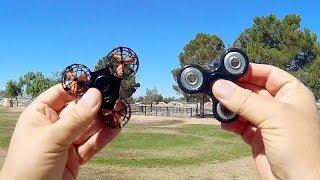 F1 Fidget Spinner Drone Flight Test Review