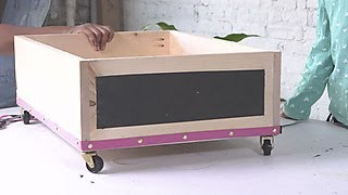 How to Make Rolling Under-Bed Drawers - DIY Network