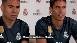 EA SPORTS FIFA FIFA 18 World Cup BRASIL Casemiro & Varane vs SPAIN Carvajal & Kovacic