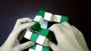 Wooden IQ Magic Cube Brain Teaser Puzzle 3D Toys