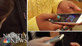 California High School Bans Students From Using Smartphone   NBC Nightly News