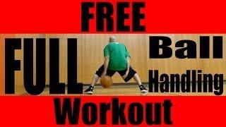 FREE Ball Handling Workout! Best Basketball Dribbling Drills: Kyrie Irving Handles!